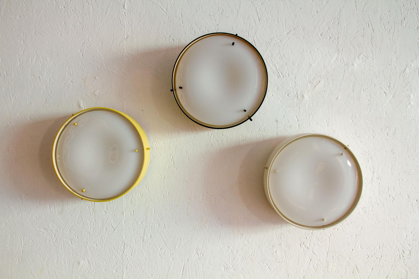 Lampade da muro gino sarfatti luciano colantonio